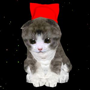 Super Kitten Spacey Cat